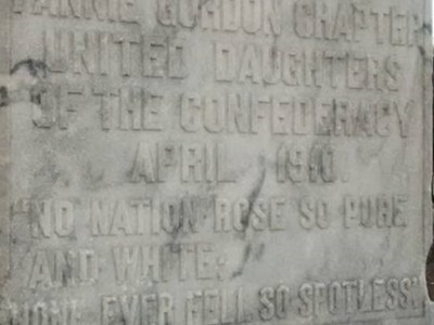 A pondering of Confederate Memorials, 'Lest We Not Forget' the way the South once was.